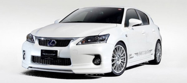 Тюнинг-пакет ARTISAN SPIRITS Sports-Spec Line Lexus CT 200h
