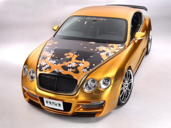 Тюнинг-пакет ASI Bentley Continental GTS Gold