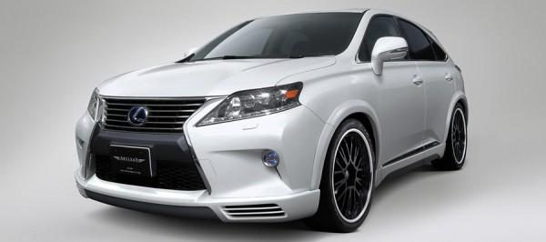 Тюнинг-пакет ARTISAN SPIRITS High-Spec Line Lexus RX F Sport 2012