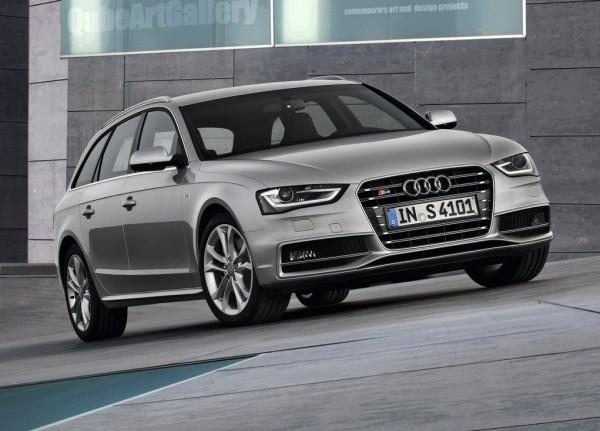 Рестайлинг-пакет Audi S4 Avant 2012