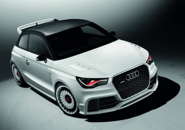 Рестайлинг-пакет Audi A1 Clubsport Quattro 2011
