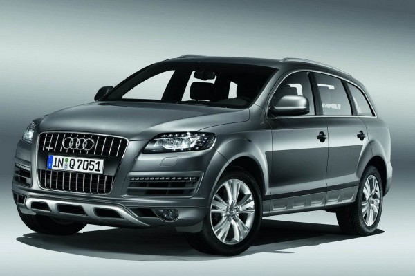 Внешний рестайлинг Audi Q7