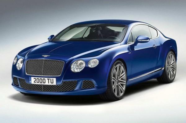 Рестайлинг-пакет Bentley Continental GT Speed 2013