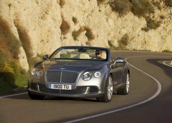 Рестайлинг-пакет Bentley Continental GTC W12 2013