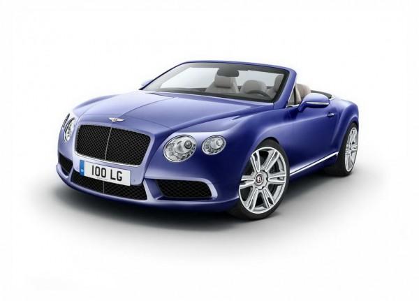 Рестайлинг-пакет Bentley Continental GTC V8 2012