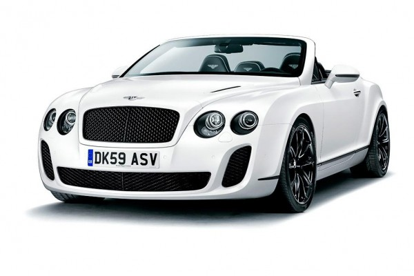 Рестайлинг-пакет Bentley Continental Supersports Convertible