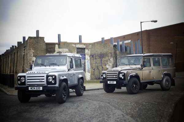 Рестайлинг-пакет Land Rover Defender 90/110 X-Tech Special Edition 2012