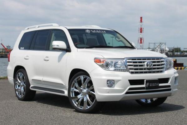 Тюнинг-пакет DOUBLE EIGHT ver.2 Toyota Land Cruiser 200 2012