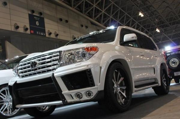 Тюнинг-пакет EIGHT STAR Toyota Land Cruiser 200 2012