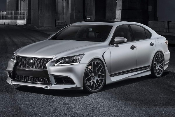 Тюнинг-пакет FIVE AXIS Lexus LS F Sport 2012