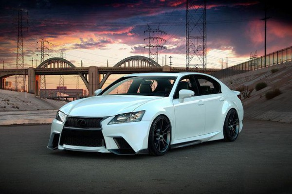 Тюнинг-пакет FIVE AXIS Lexus GS 350 F Sport 2012