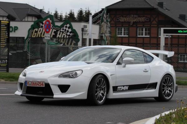 Тюнинг-пакет GAZOO RACING Toyota GT 86 2012