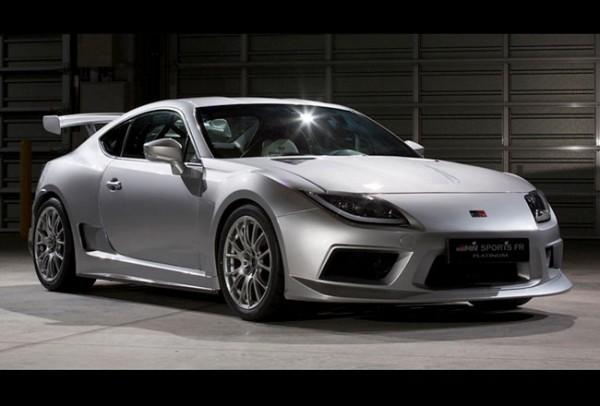 Тюнинг-пакет GAZOO RACING GRMN SPORTS FR Concept PLATINUM Toyota GT 86 2013