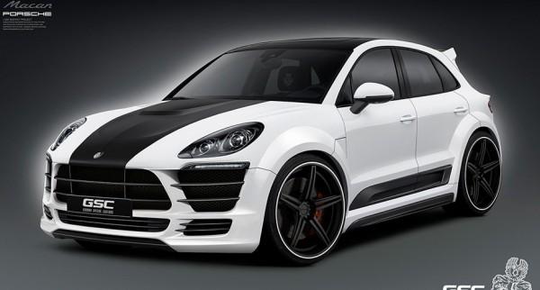 Тюнинг-пакет GSC Porsche Macan