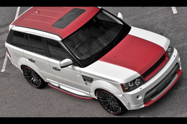 Тюнинг-пакет KAHN Capital City Edition Range Rover Sport 2012