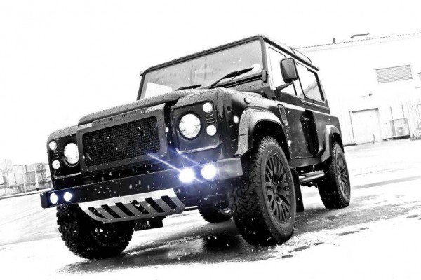 Тюнинг-пакет KAHN Winter Edition Land Rover Defender 90 2013