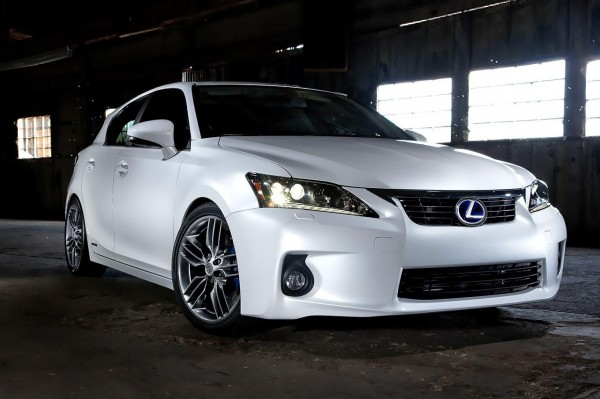 Рестайлинг-пакет Lexus CT 200h F-Sport