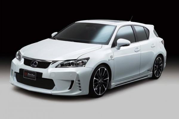 Тюнинг-пакет WALD Black Bison Lexus CT 200h 2012