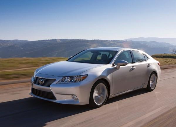 Рестайлинг-пакет Lexus ES 2012