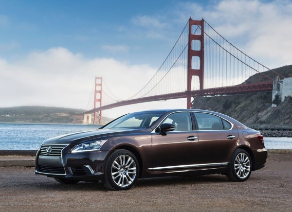 Рестайлинг-пакет Lexus LS 2013