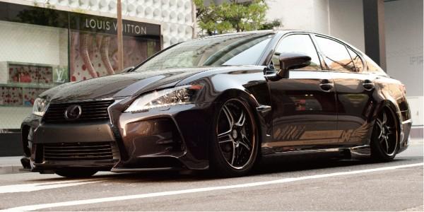 Тюнинг-пакет LXF Design Lexus GS 2012