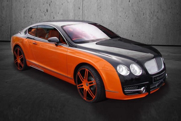 Тюнинг-пакет MANSORY Bentley Continental GT
