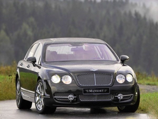 Тюнинг-пакет MANSORY Bentley Flying Spur