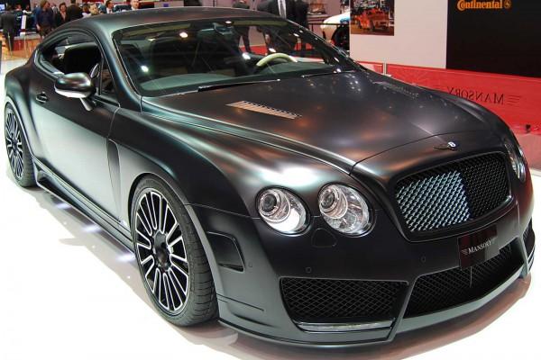 Тюнинг-пакет MANSORY Bentley Continental GT Speed