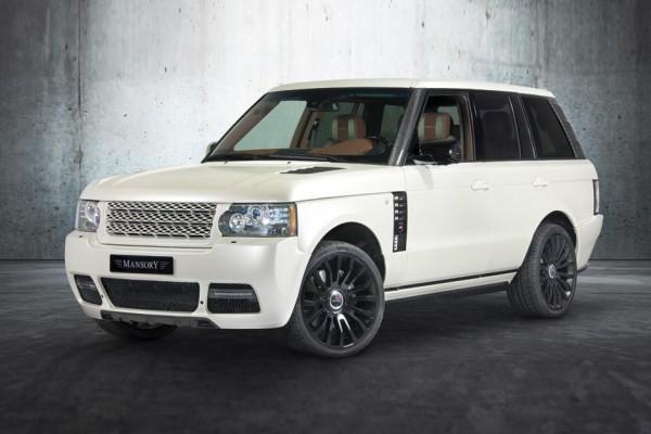 Тюнинг-пакет MANSORY Range Rover Vogue