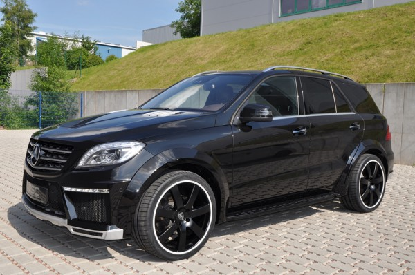 Тюнинг-пакет GSC WideBody Mercedes ML