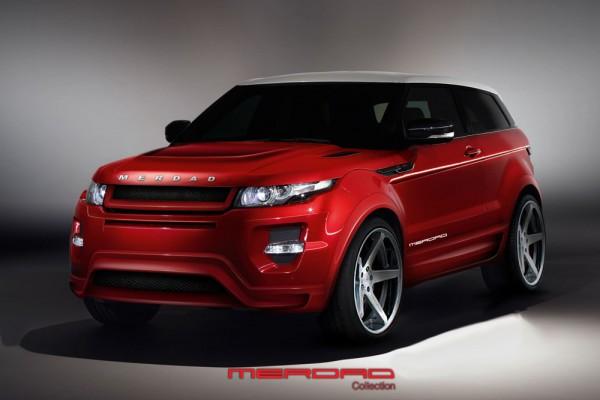 Тюнинг-пакет MERDAD Range Rover Evoque
