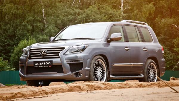 Тюнинг-пакет MET-R AlterEgo Lexus LX 570 2012