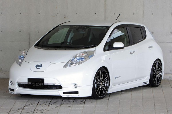 Тюнинг-пакет MzSPEED Exclusive Zeus GLMRS Line Nissan Leaf