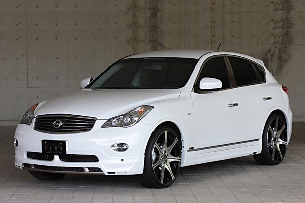 Тюнинг-пакет MzSPEED Zeus Exclusive Luv-Line Infiniti QX50