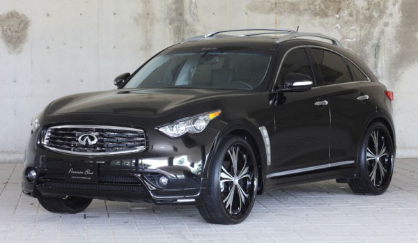 Тюнинг-пакет MzSPEED Zeus Exclusive Luv-Line Infiniti QX70