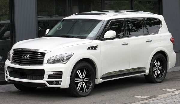 Тюнинг-пакет MzSPEED Zeus Exclusive Luv-Line Infiniti QX80