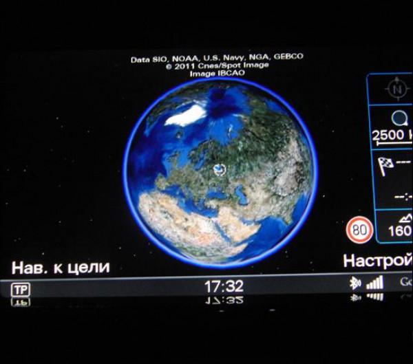 Навигация с поддержкой Google-Earth