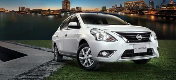 Рестайлинг-пакет Nissan Almera 2014