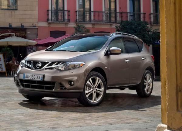 Рестайлинг-пакет Nissan Murano 2012