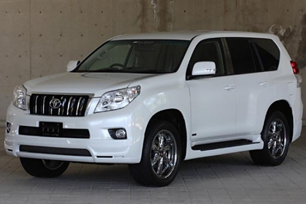 Тюнинг-пакет PRUSSIAN BLUE Toyota Land Cruiser Prado 150