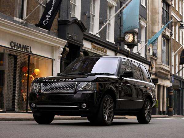 Рестайлинг-пакет Range Rover Autobiography 2012