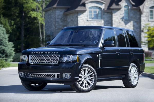 Рестайлинг-пакет Range Rover Autobiography Bodykit 2012