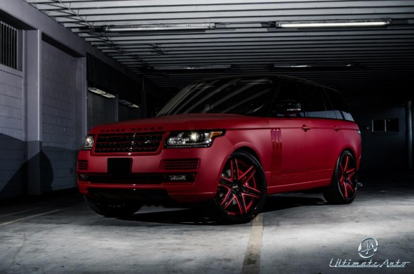 Тюнинг-пакет ULTIMATE Auto Celebrity Auto Edition Range Rover Vogue 2013