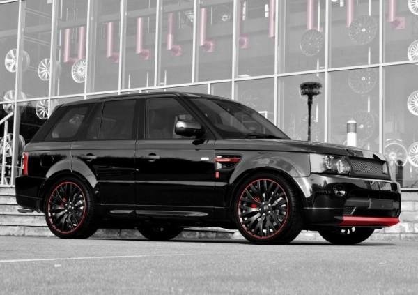 Тюнинг-пакет KAHN Diablo Range Rover Sport