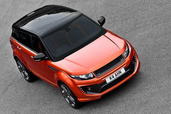 Тюнинг-пакет KAHN Vesuvius Copper RS250 Range Rover Evoque 2012
