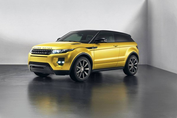 Рестайлинг-пакет Range Rover Evoque Sicilian Yellow Limited Edition 2013