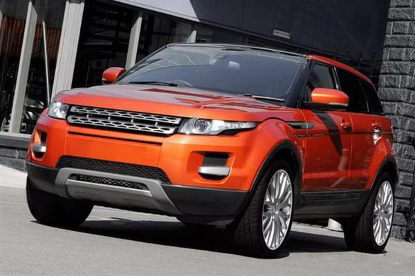 Тюнинг-пакет KAHN Vesuvius Range Rover Evoque 2012