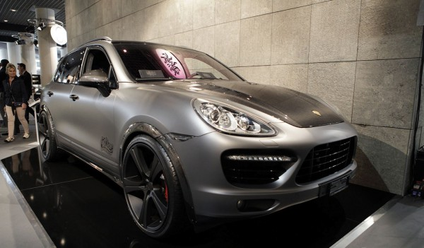 Тюнинг-пакет TERRA Style DMC Porsche Cayenne 958