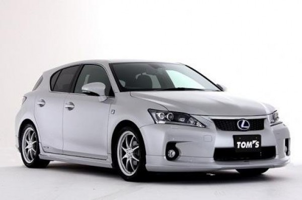 Тюнинг-пакет TOM'S Lexus CT 200h
