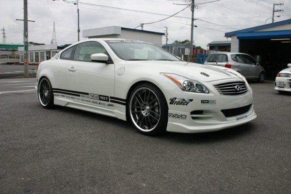 Тюнинг-пакет TOP SECRET Infiniti G25 / G35 / G37 Coupe /2007-2013/